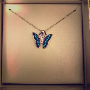 Jewelry - Sterling Silver Butterfly Necklace